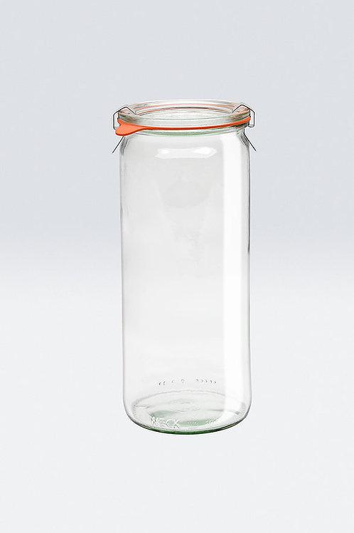 Weck Cylindrical Jar 1L