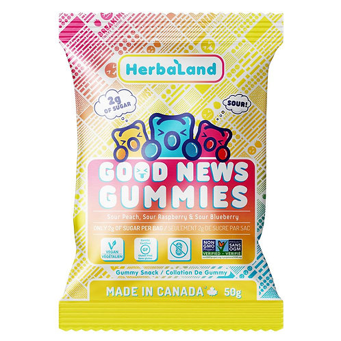 Herbaland Good News Sour Gummies (100g)