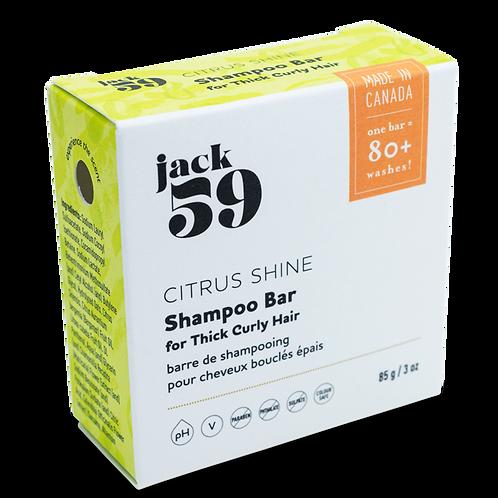 Jack 59 Citrus Shine Shampoo Bar