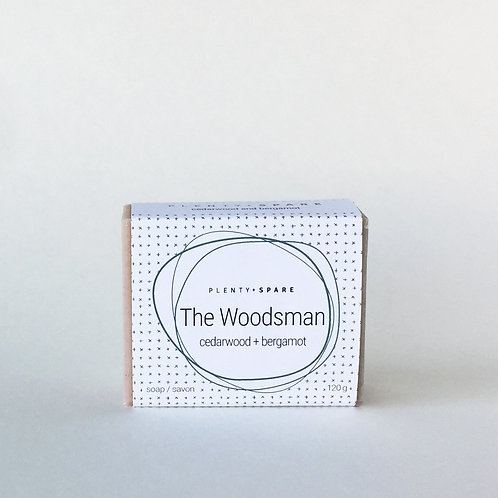The Woodsman Soap (cedarwood + bergamot)