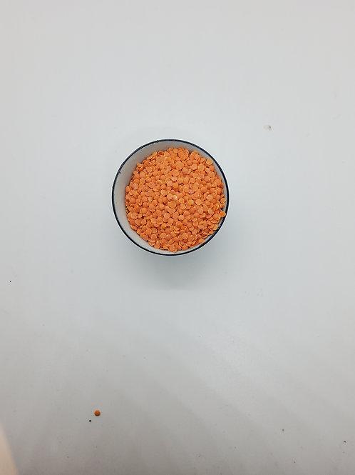 Organic Red Split Pea Lentils