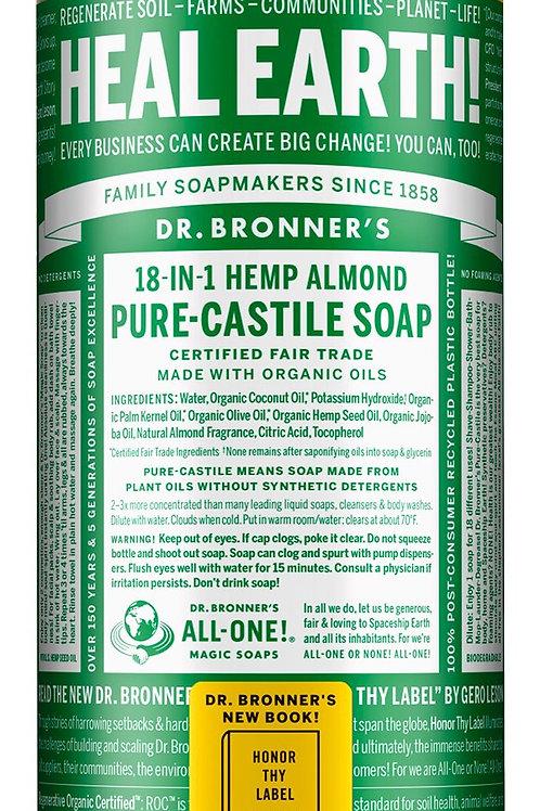 Almond Pure Castile Soap
