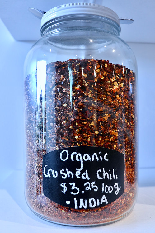 Organic Crushed Chili Flakes