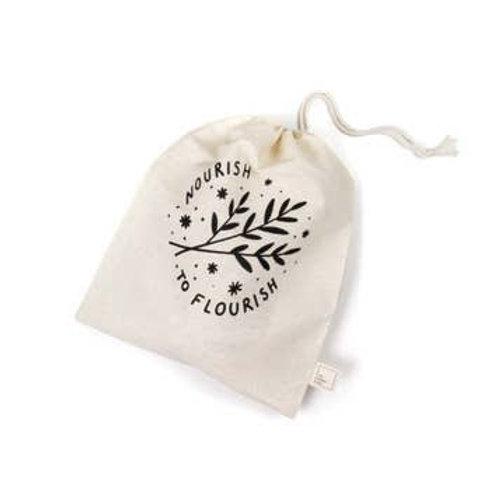 Nourish to Flourish Reusable  Bag