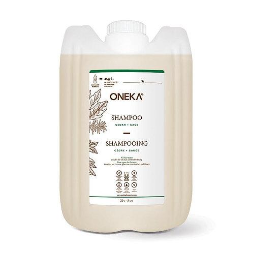 Oneka Cedar Sage Shampoo