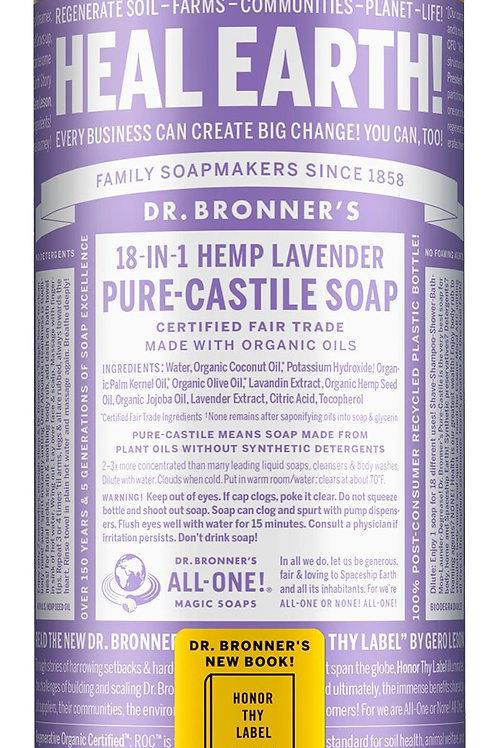 Dr.Bronners Lavender Castille Soap (100g)