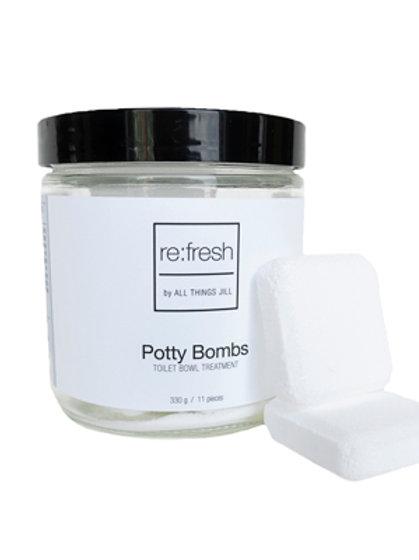 Potty Bombs