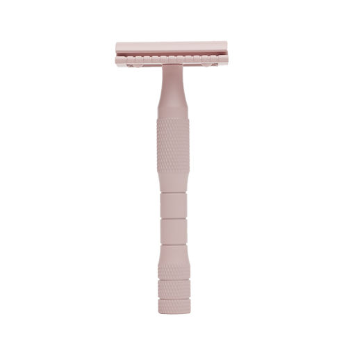 Well Kept Pink Safety Razor