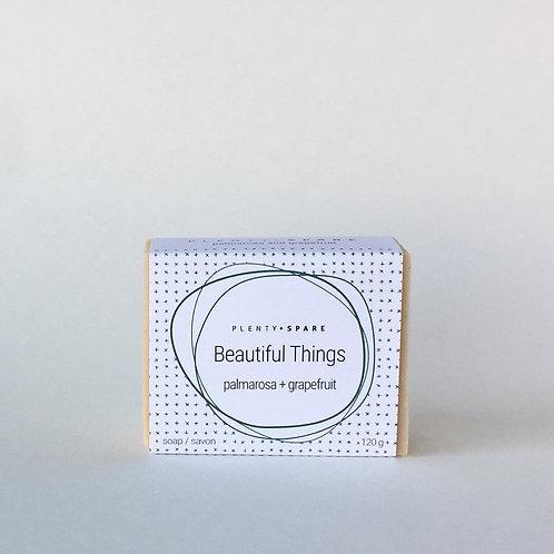 Beautiful Things Soap (palmarosa + grapefruit)