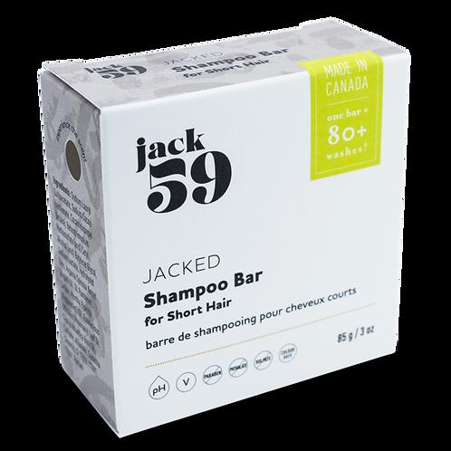 Jack 59 Jacked Shampoo Bar