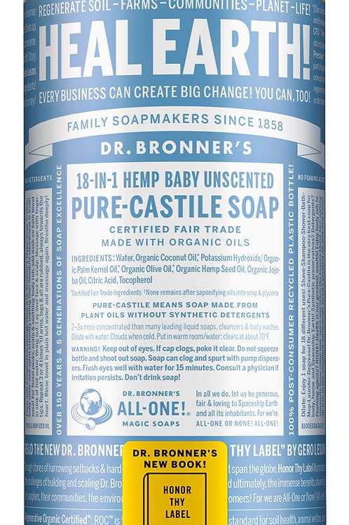 Baby Unscented Pure Castile Soap