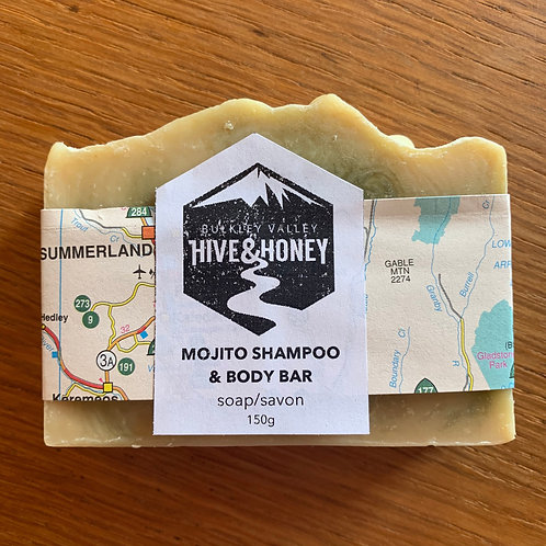 Mojito Shampoo Bar