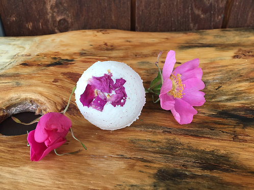 Rose Milk Bath Bomb