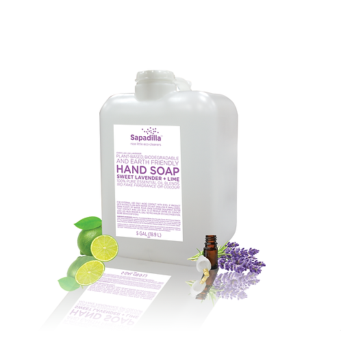 Sweet Lavender and Lime Hand Soap