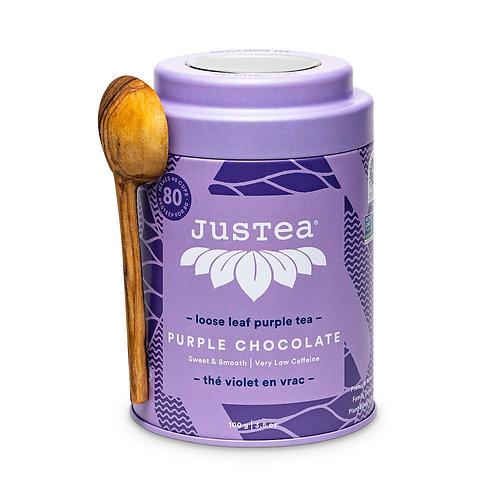 Purple Chocolate Tea