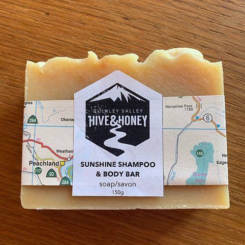 Sunshine Shampoo Bar