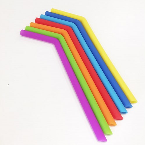 Silicone Smoothie Straw