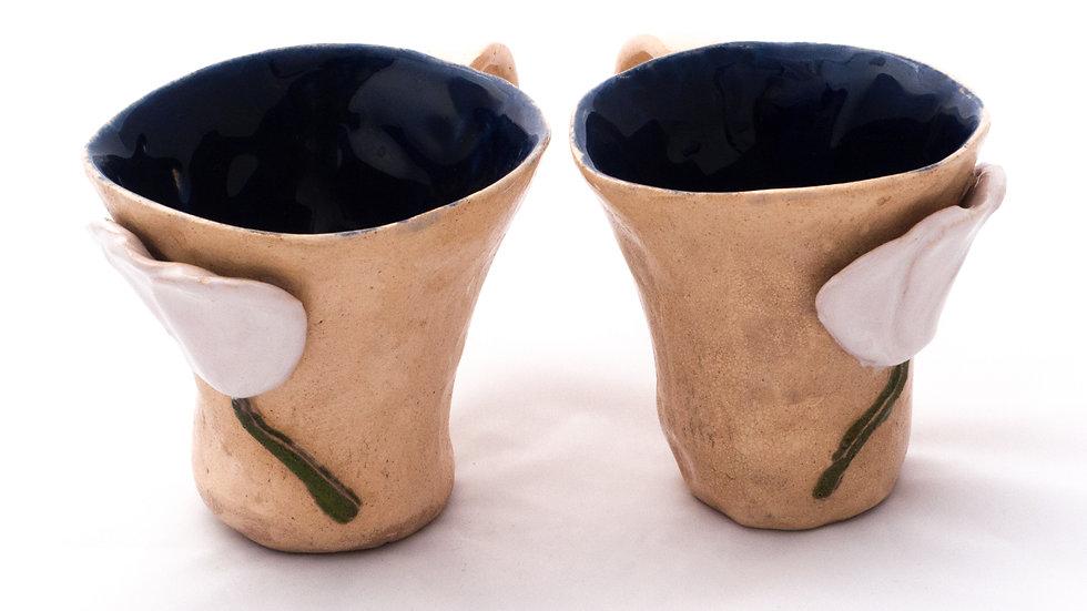 Kubeczki z kwiatami // Cups with flowers