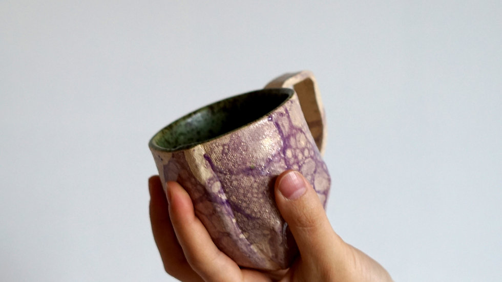 Bąbelkowe kubki / Bubble mugs
