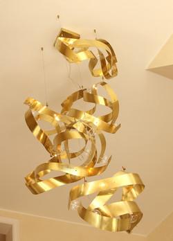 Bespoke Chandelier - Art Collector House - JCT Haute Couture Interior Design - Paris (1)
