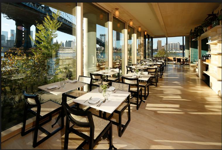 Celestine Restaurant with view