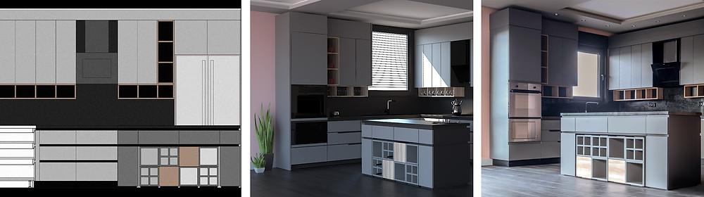 Due project mutfak tasarımı