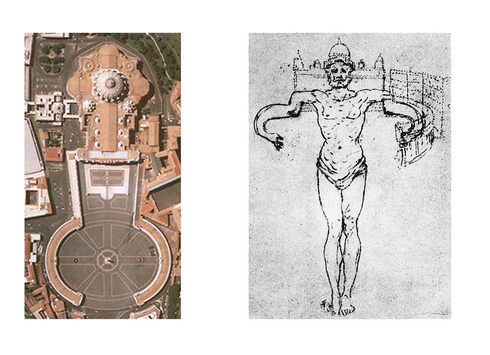 Bernini Vatikan Meydanı Eskizleri