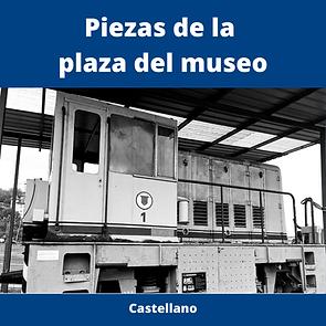 piezas de la plaza del museo en castellano