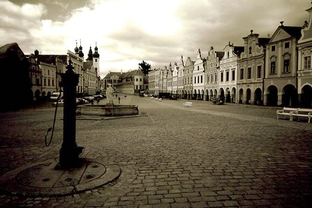 Telč, Czech Republic.