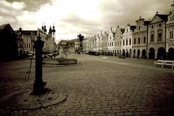 Telč, Czech Republic.