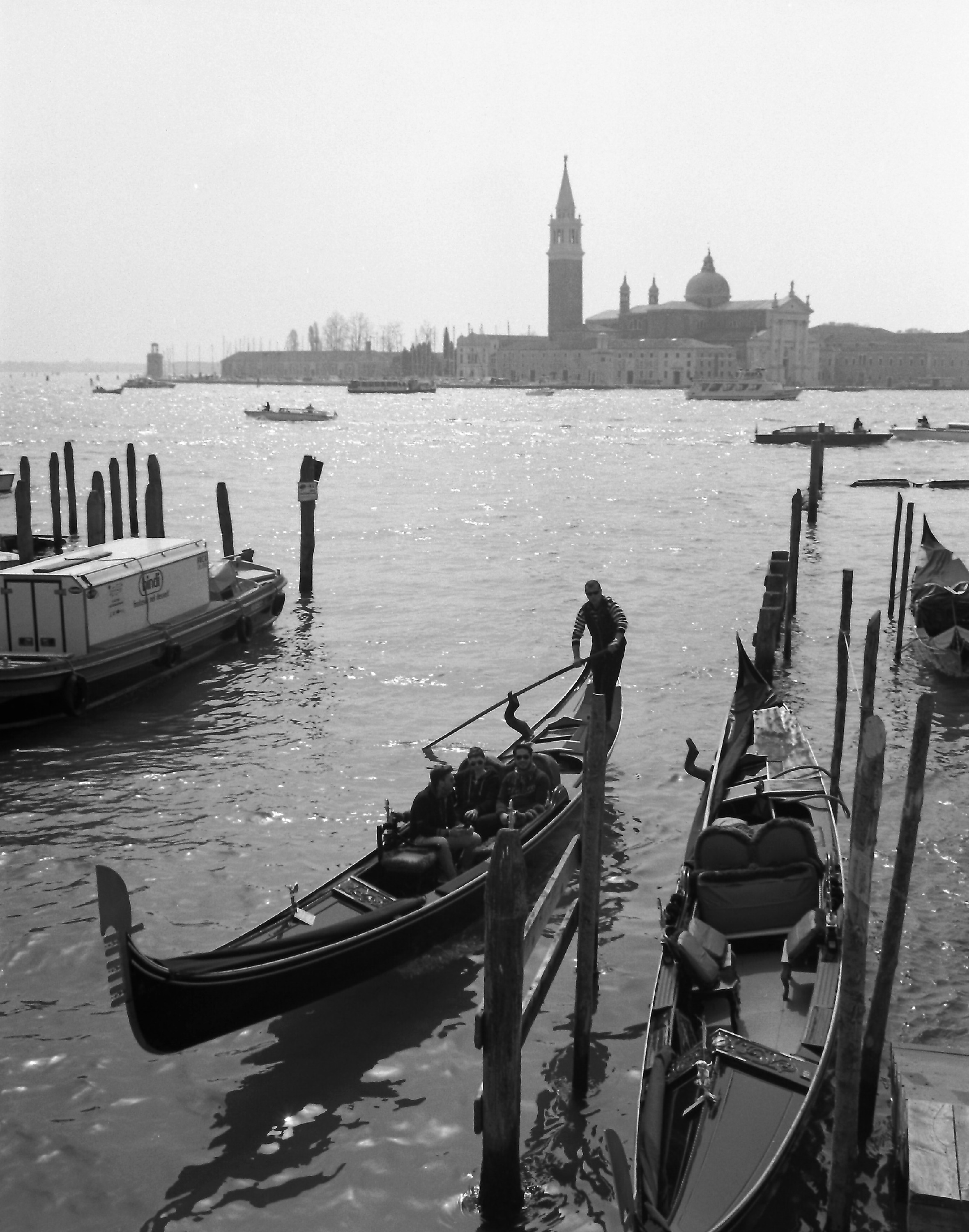 Steering Home, San Marco, Venice.
