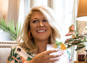 COCKTAILS WITH CAROLYN: THE GIRL BEHIND THE GLASS