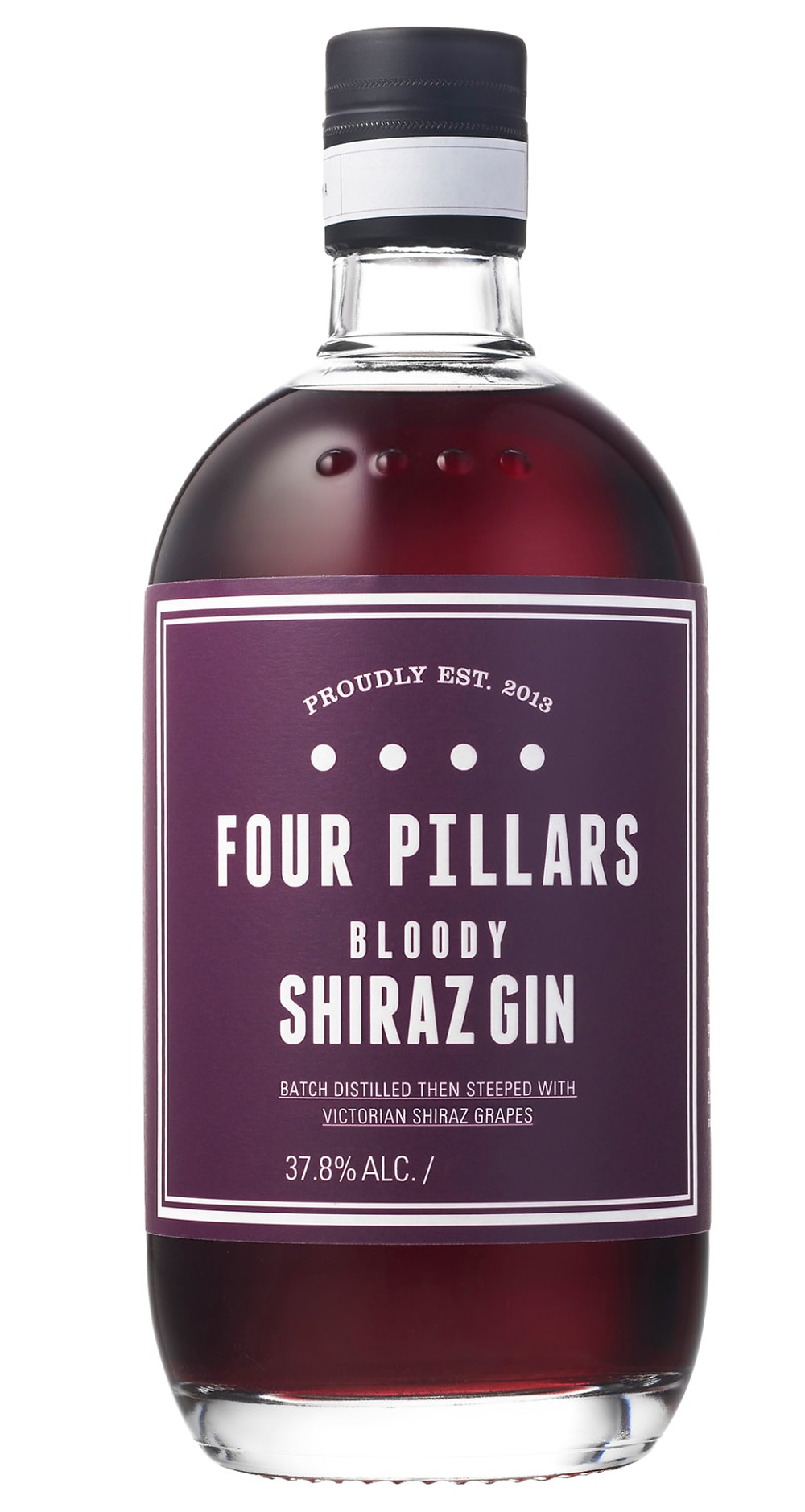 ruby-colored gin made by infusing it with shiraz grapes from the yarra valley in australia, unique gifts for the wine enthusiast