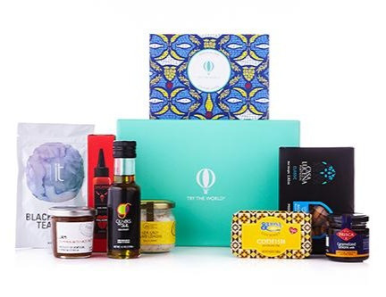 try the world subscription box featuring food recipes snack and artisans from around the world, support small business