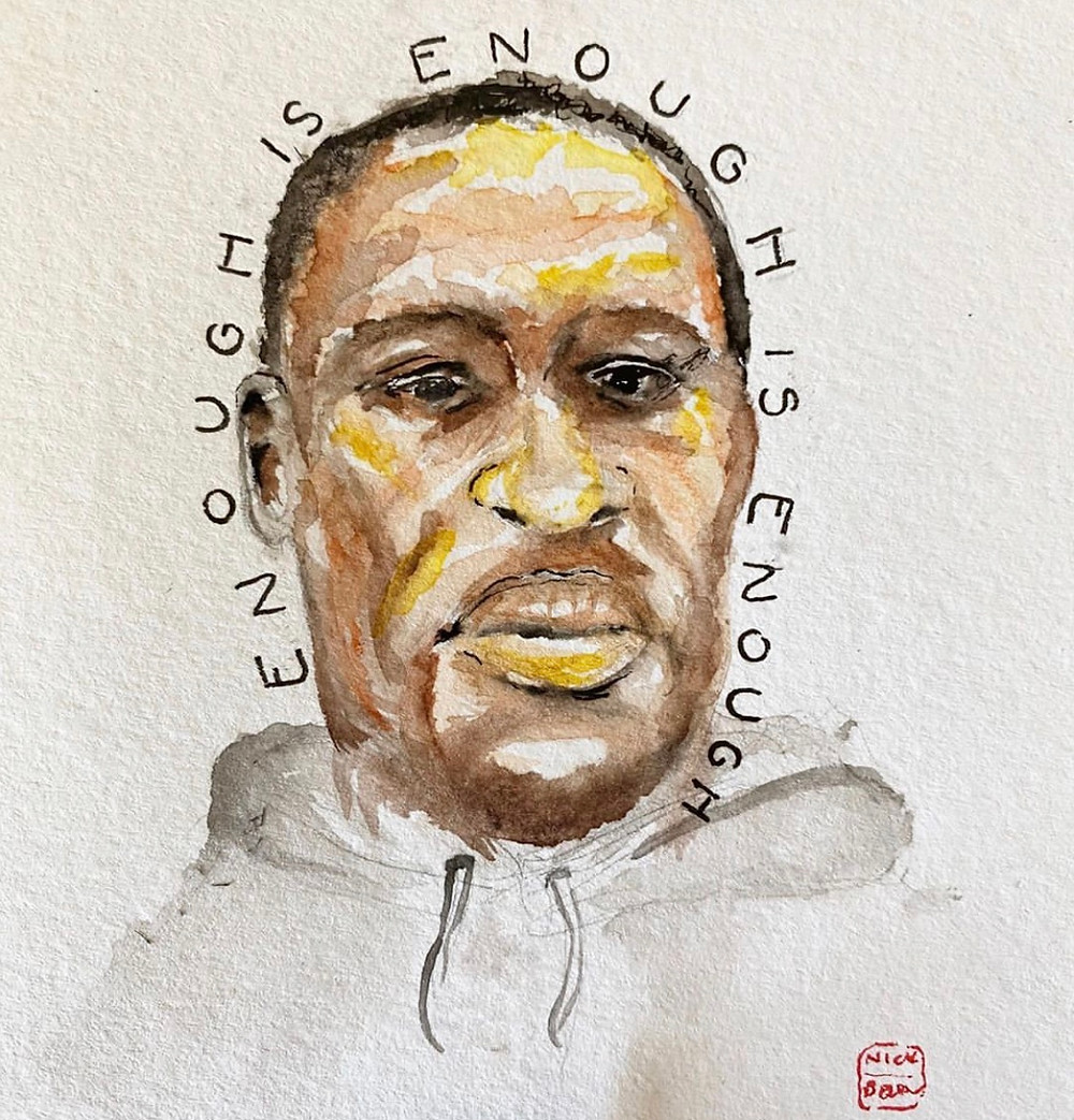 enough is enough, Black lives matter, the show must be paused, muted and listening, george floyd, justice for george floyd, white privilege, discover, do the work, i will not be white and silent, i do not understand