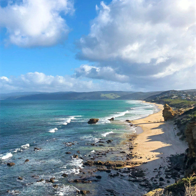 a sunny day in victoria australia at split point lighthouse along the great ocean road, dine drink discover, is it safe to travel in australia alone