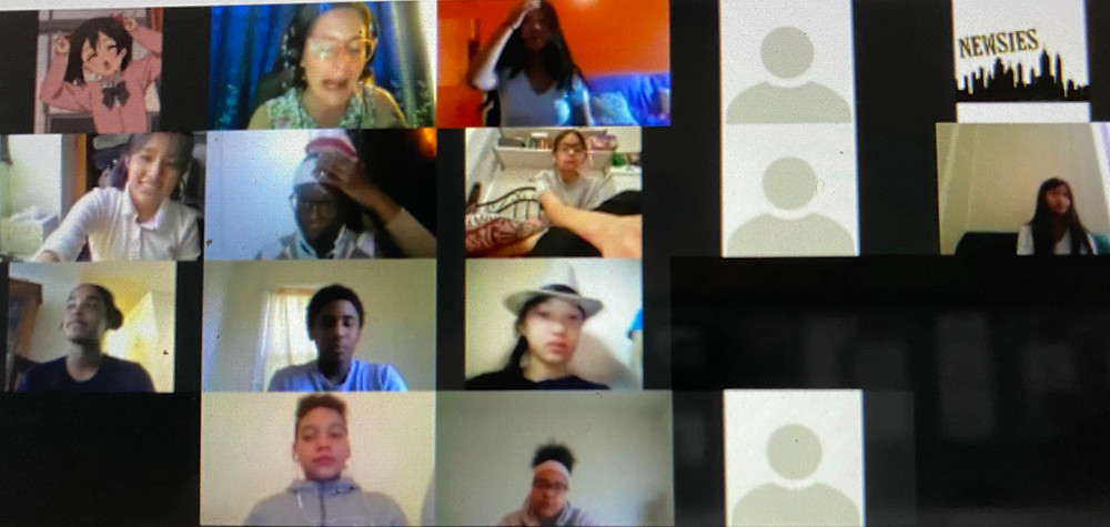 kids in harlem attending school via zoom, education is a pillar of our society, what are the health risks of opening school during the coronavirus, should we reopen schools