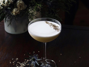 COCKTAIL RECIPE: FLORAL GIN SOUR