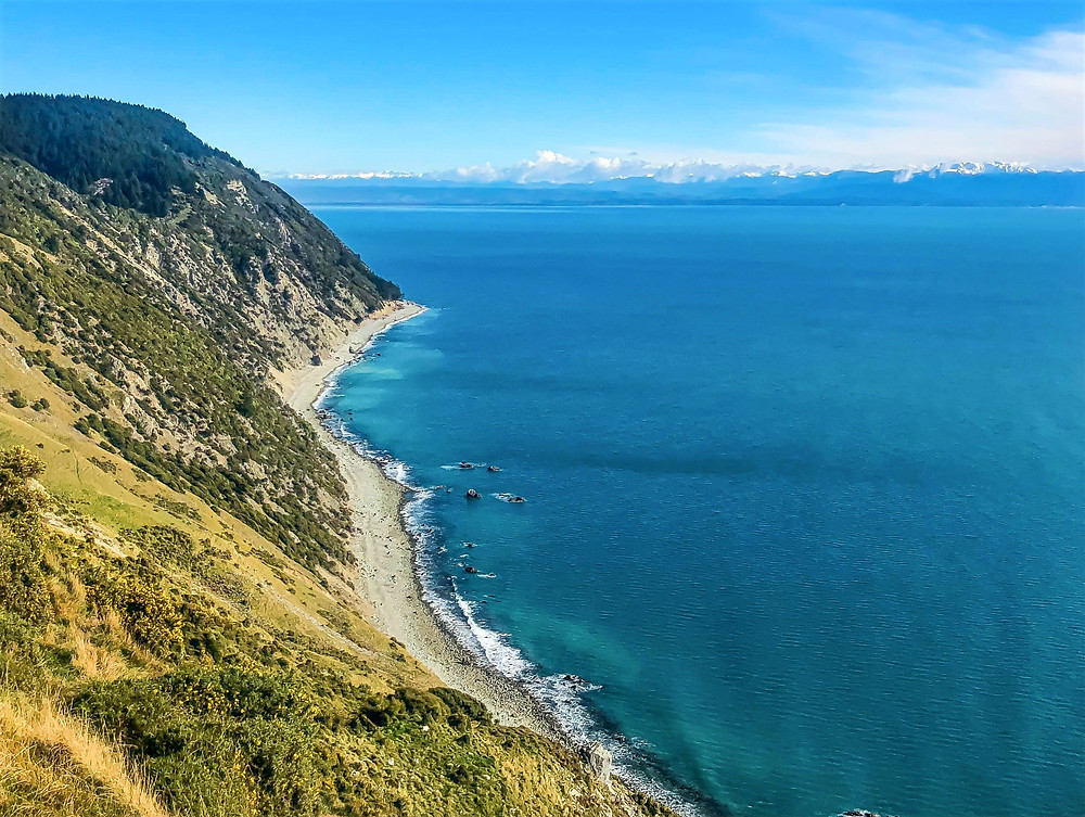 winter in new zealand, ocean view, cliff side views in new zealand, must-see places, must-visit new zealand destinations, beautiful new zealand, located in the northern part of south island