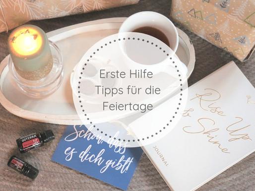 Erste Hilfe Tipps für die Feiertage
