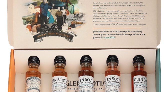 Glen Scotia Dunnage Tasting Pack 5 x 25 ml