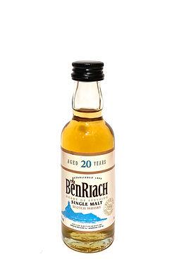 Benriach Single Malt 20 y.o. Miniatur