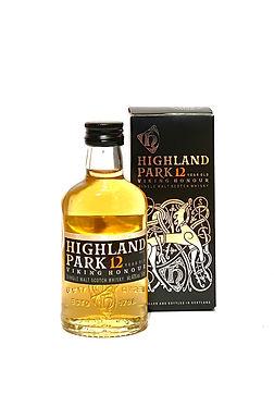 Highland Park 12 y.o. Viking Honour Miniatur