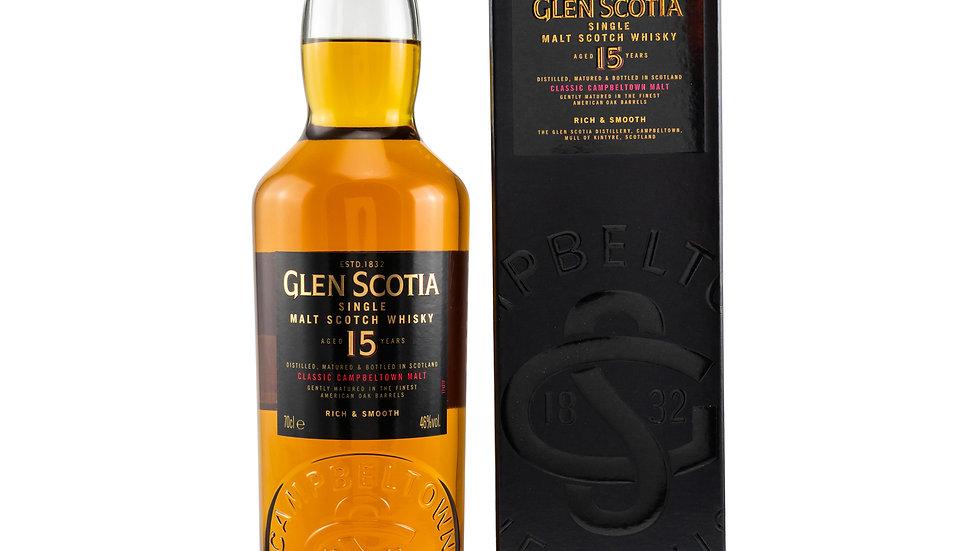 Glen Scotia 15 Jahre Vorderseite