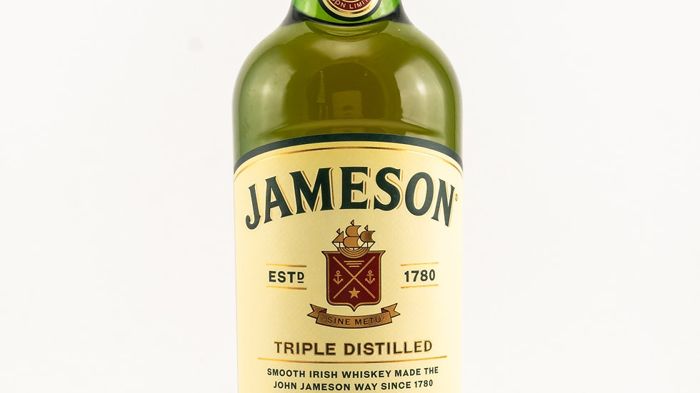 Jameson Triple Distilled Irish Whisky Vorderseite