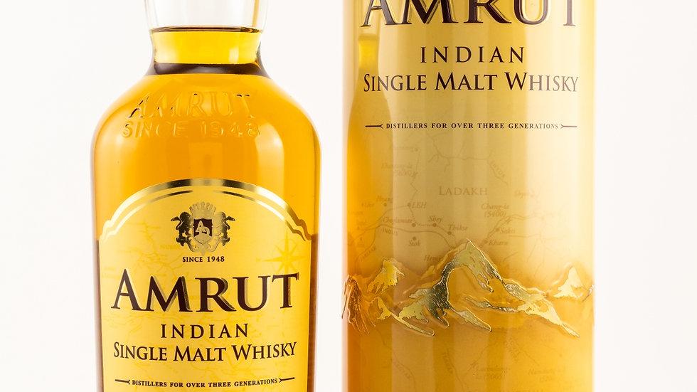 Amrut Indian Single Malt - neue Ausstattung Vorderseite