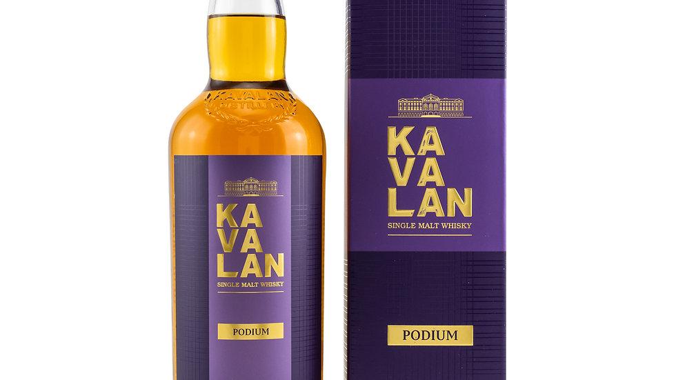 Kavalan Podium - neue Ausstattung Vorderseite