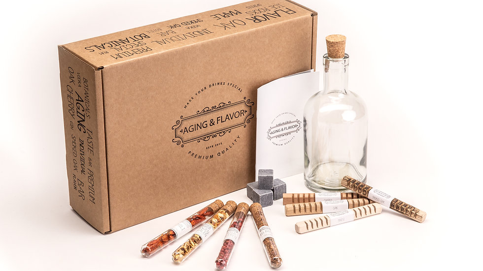 Aging and Flavour Box, drapiert