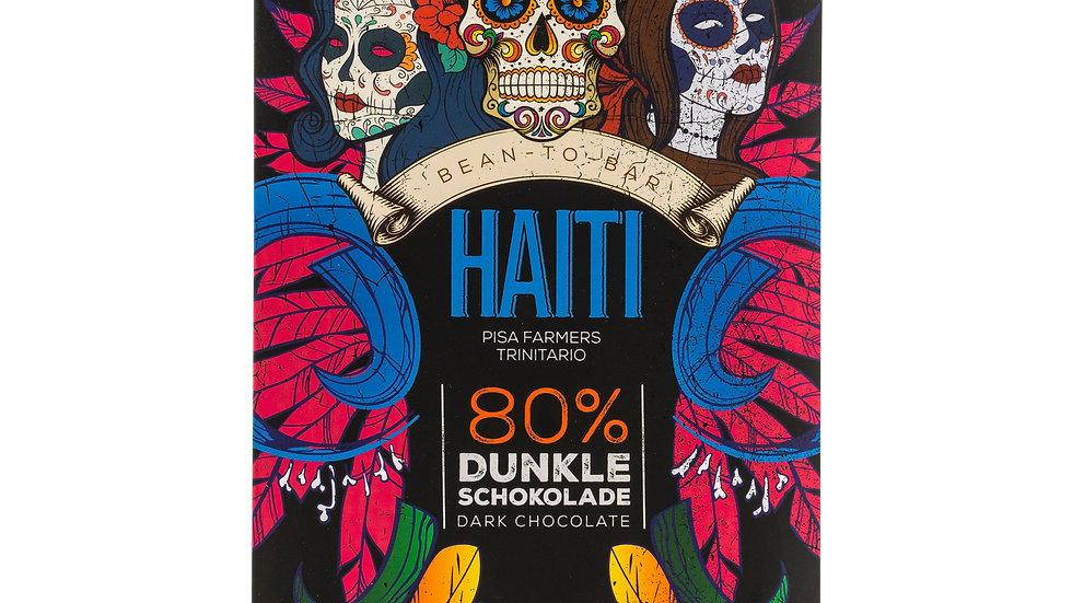 Schokolade Bio-Haiti 80%