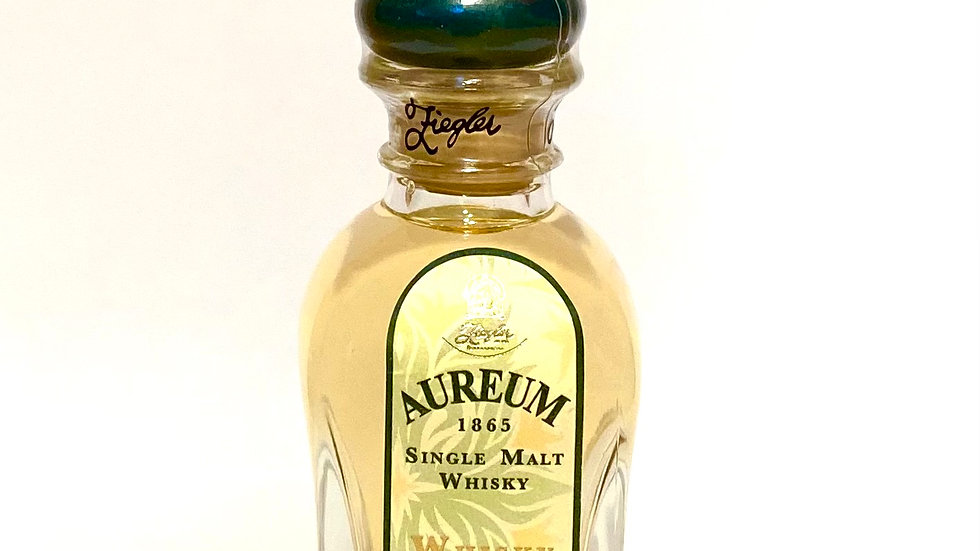 Aureum Single Malt  Whisky Likör Miniatur